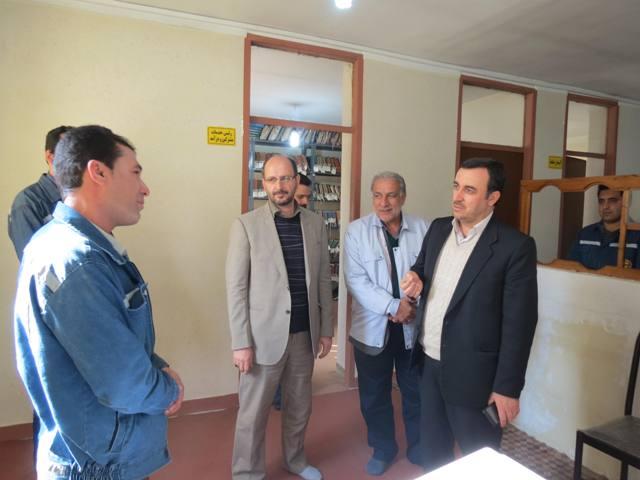 بازدید مدیر عامل برق مازندران از چهاردانگه/اصلاح پست ۲۰ کیلوولت منطقه گرماب+تصاویر