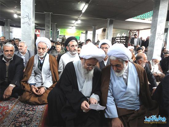 امام جمعه چهاردانگه در قاب تصویر