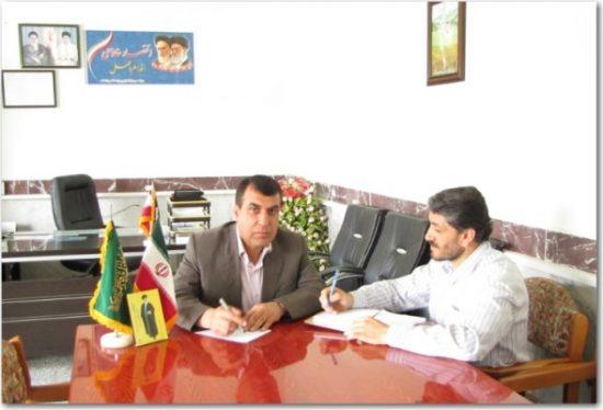 گفتگو با دبیر پروژه مهر آموزش و پرورش منطقه چهاردانگه