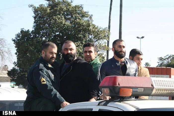 گزارش تصویری از دستگیری