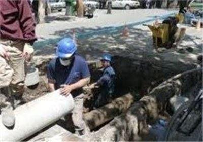 قطعی ۱۰۰ ساعته آب واحدهای صنعتی کیاسر