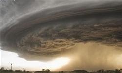 وزش طوفان شدید در منطقه چهاردانگه