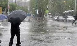 بارش باران و کاهش محسوس دما در مازندران