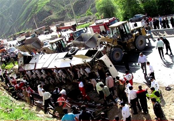 جزئیات حادثه مرگبار محور سوادکوه+تصاویر