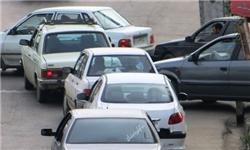 ترافیک سنگین در محور ساری ـ سمنان