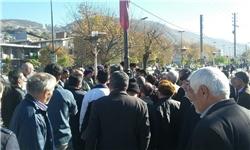 تجمع بازنشستگان البرز مرکزی سوادکوه در اعتراض به عدم دریافت حقوق