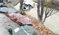 ۱۲ کشته و مفقود و ۶ مجروح؛ آمار نهایی حادثه دلخراش هراز + تصاویر و اسامی