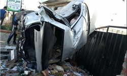 تصادف مرگبار در جاده دریای ساری