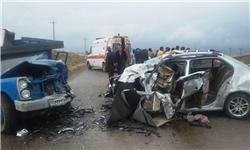 تصادف مرگبار در نوشهر قربانی گرفت/ وخامت حال ۴ مصدوم دیگر