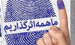درصد مشارکت ۲۲ شهرستان مازندران در انتخابات