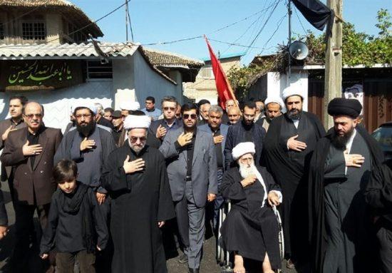 دستهروی علمای مازندران در ساری برگزار شد