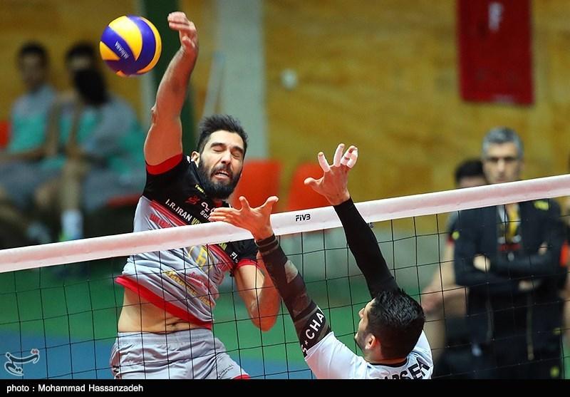 پیروزی تیم والیبال عمران شهرداری ساری در دربی مازندران