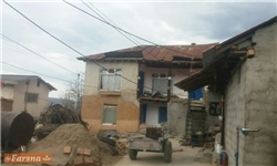 مردم سقفی برای سرپناه ندارند/ قطع برق روستاهای هزار جریب نکا