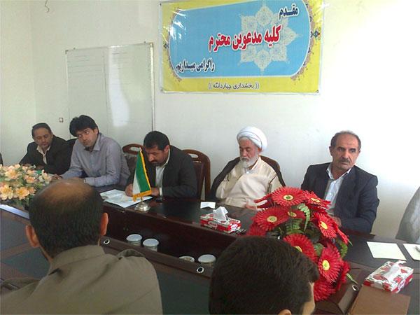 بازدید محمد دامادی و مدیر کل امور روستایی از چهاردانگه