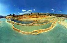 تصویر پانوراما و زیبا از چشمه سورت / با زاویه ۳۶۰ درجه