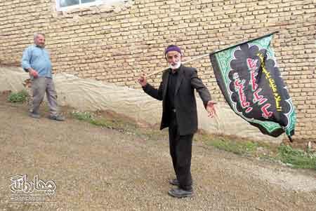 سُنّت بسم الله گویی و ناهاردهی در شهر کیاسر در دهه اول محرم