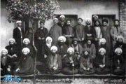 آیت الله شیخ علی اصغر ولویه ای در بین علمای مازندران