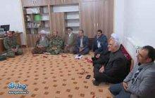 برگزاری جلسه به مناسبت هفته بصیرت در دفتر امام جمعه بخش چهاردانگه