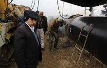 بازدید مدیرعامل شرکت ملی گاز ایران از خط انتقال گاز دامغان-کیاسر-نکا