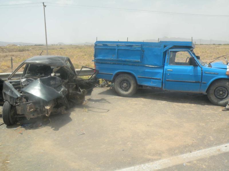 ۳ کشته بر اثر تصادف خونین در جاده کیاسر - ساری