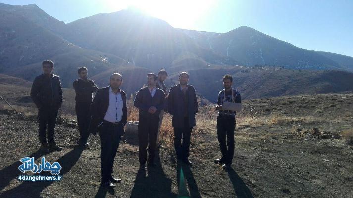 بازدیدهیاتی از  سازمان بسیج سازندگی  کشور از دهستان پشتکوه + تصاویر