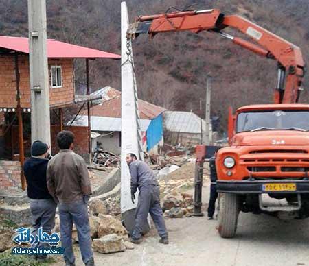 راه اندازی مجدد پروژه برق رسانی به چشمه های منطقه نمونه گردشگری روستای جمال الدین کلا