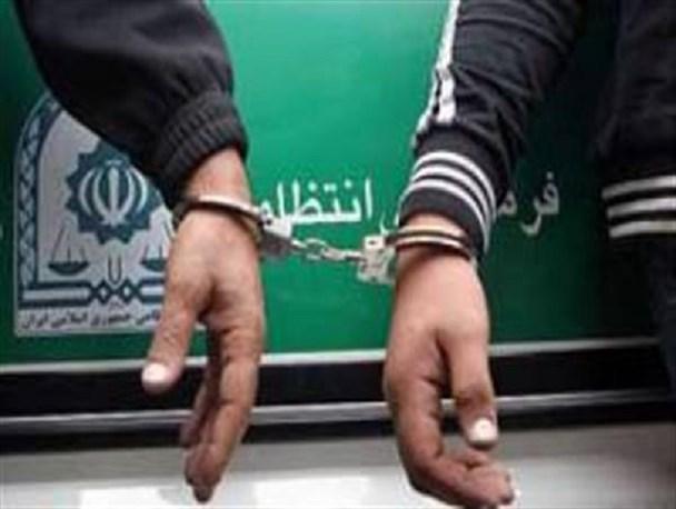 دستگیری دو سارق تجهیزات بیمارستانی در ساری