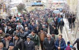 گزارش تصویری راهپیمایی باشکوه ۲۲ بهمن در شهر کیاسر