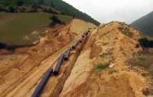 قطع گاز 7 روستای دامغان به منظور بهره برداری از خط تقويتی انتقال گاز به كياسر