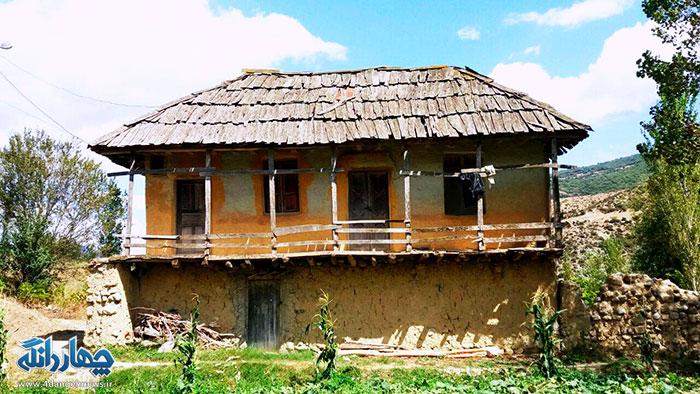 تصاویری از خانه های قدیمی کیاسر