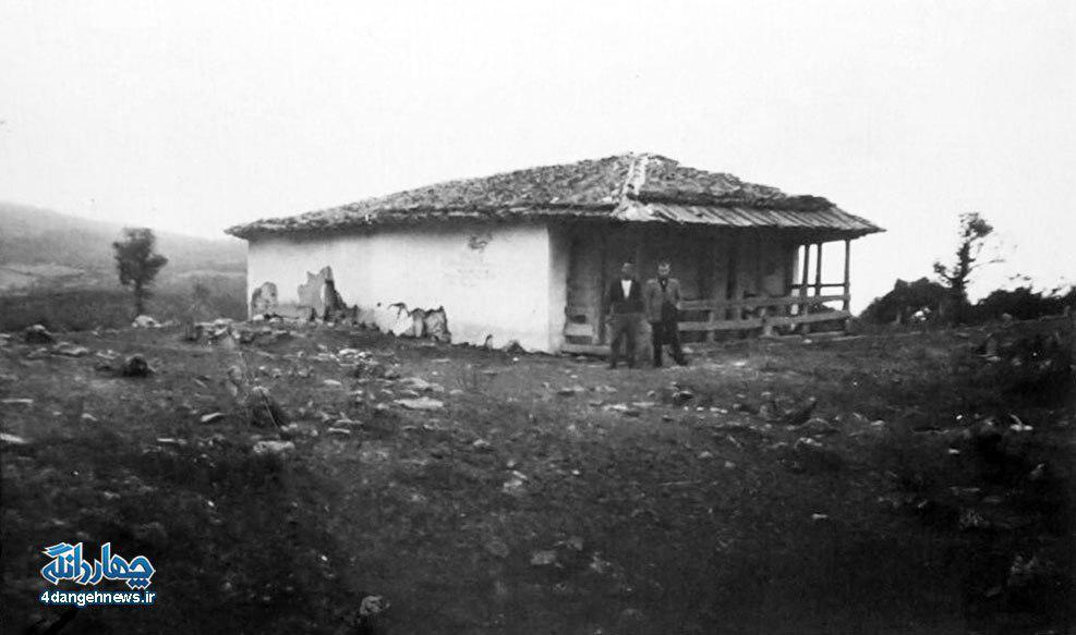 عکس بارگاه امامزاده علی روستای لنگر – ۱۳۴۵
