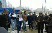 تجمع مردم چهاردانگه در اعتراض به انتقال زباله به چهاردانگه ( تصاویر )