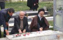 دیدار اعضای ستاد یادواره شهدای بخش چهاردانگه با خانواده شهدای خلرد