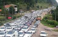 ترافیک سنگین در محور ساری - تاکام در محدوده پهنه کلا