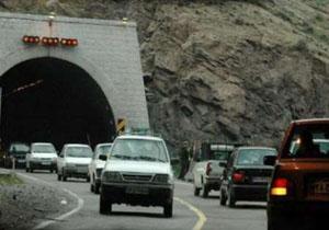ترافیک روان در جاده های منتهی به شمال