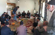 عید دیدنی با حضور کل اهالی در روستای پشرت