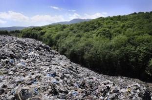 جنگلهای مازندران همنشین زبالههای رنگارنگ