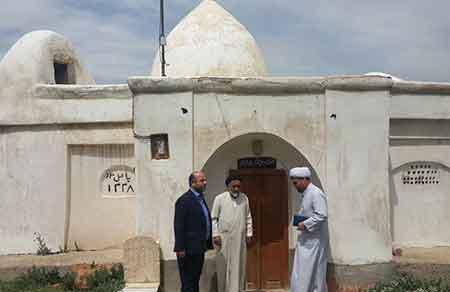 بازدید رئیس اداره اوقاف ساری از بقاع متبرکه بخش چهاردانگه
