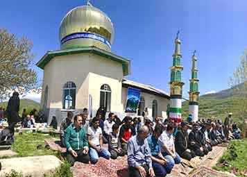 گزارش تصویری برگزاری مراسم عید مردگان در روستای لنگر