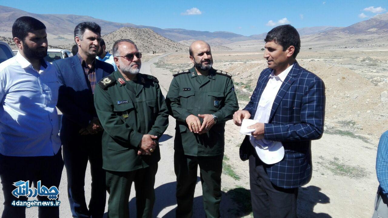 گزارش تصویری بازدید سردار بابایی از دهستان پشتکوه چهاردانگه