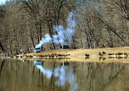 تصاویر: دریاچه الندان یکی از جاذبه های طبیعی مازندران