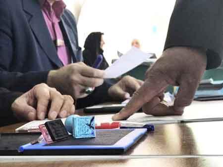 گزارش تصویری حضور گسترده مردم چهاردانگه در پای صندوقهای رای(بخش سوم)