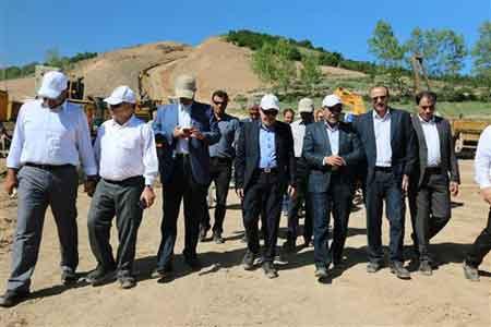 بازدید مدیرعامل شرکت ملی گاز ایران از پروژه خط انتقال گاز دامغان- کیاسر