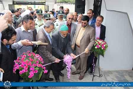 افتتاح اولین قرارگاه جهادی شهرداری ساری در بلوار کشاورز + تصاویر
