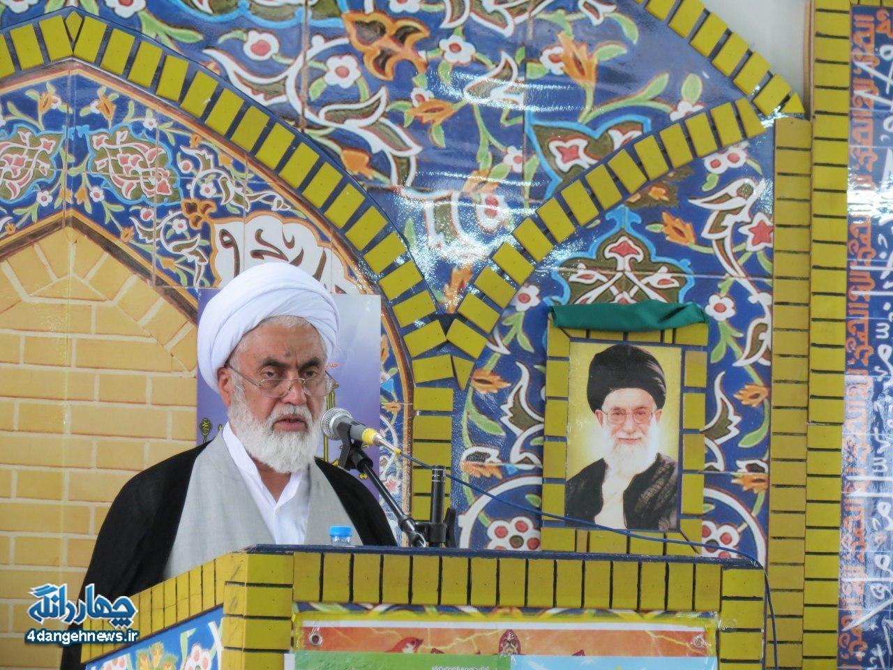 گزارش تصویری نمازجمعه بخش چهاردانگه - 26 خرداد1396
