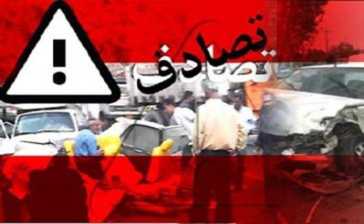 7 مصدوم در تصادف جاده کیاسر