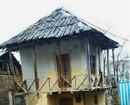 خانه های تخته پوش؛ هویت و معماری کیاسر