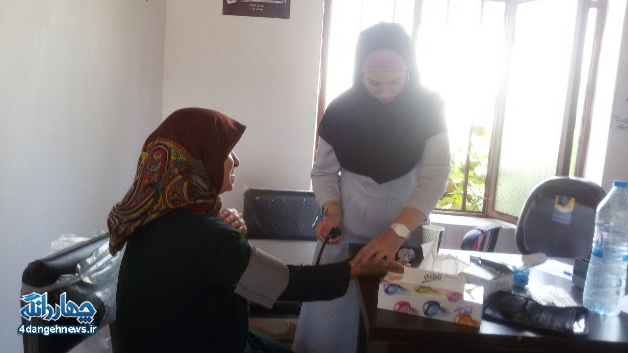 اعزام تیم پزشکی به تعدادی از روستاهای چهاردانگه