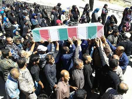 گزارش تصویری تشییع با شکوه شهید گمنام در بخش چهاردانگه (بخش دوم)