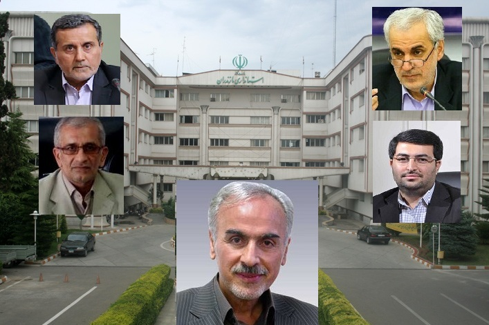 همه شانس های استانداری مازندران /بیست و دومین استاندار مازندران چه کسی خواهد بود؟
